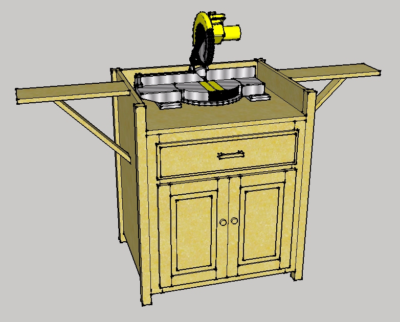 Scott 39 S Mitre Saw Table