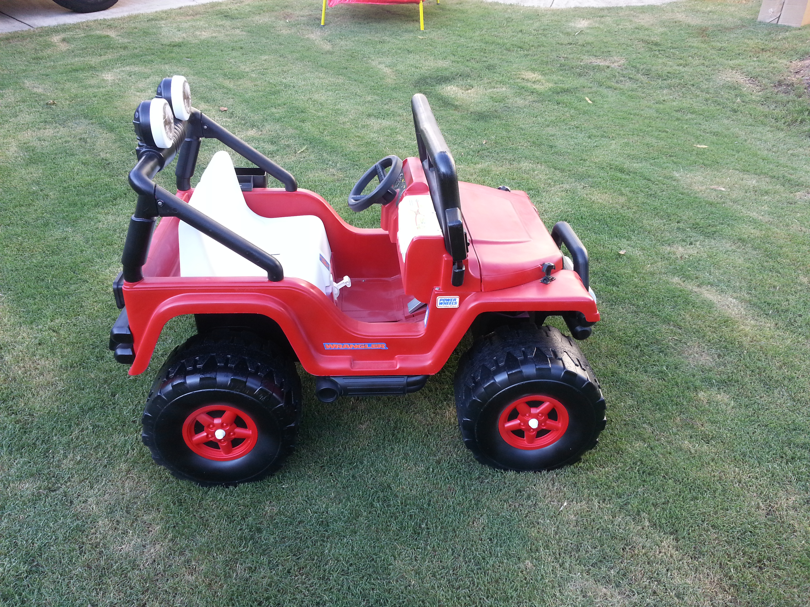 How to Paint your Power Wheels