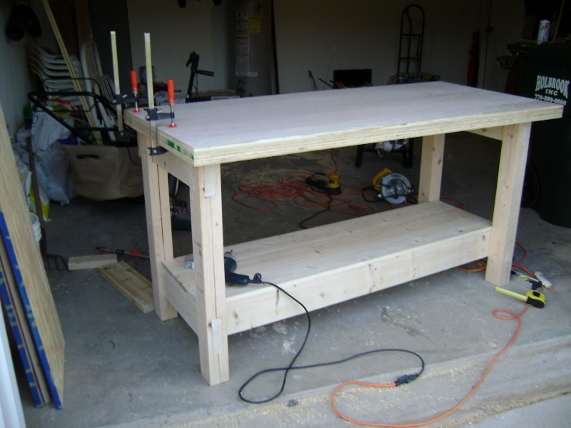 Woodwork Plywood Work Table Plans PDF