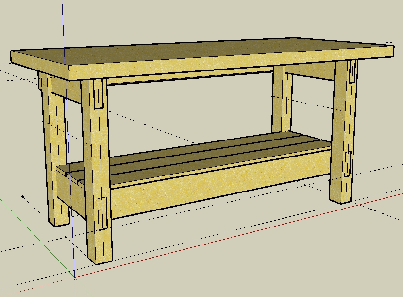 Building A Workbench Plans Find House Plans
